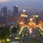 Barcelona de noche - Spanischkurs