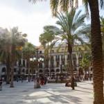 Plaza Real von Barcelona