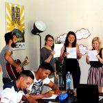Los profesores de alemán cantan