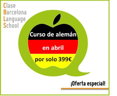 Oferta especial - Curso de alemán en Barcelona