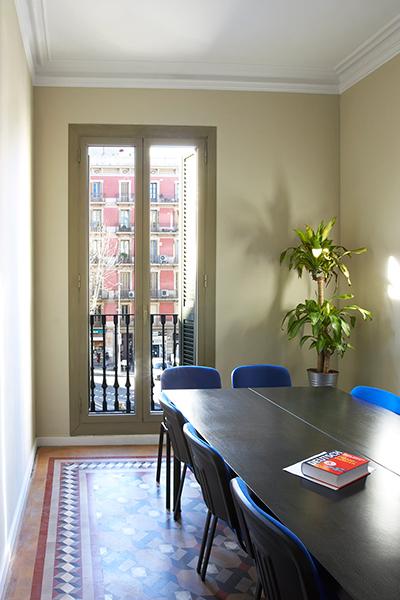 Klassenzimmer Poble Nou in der Clase Barcelona Language School