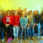 Slovenische Schülergruppe