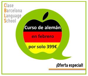 Oferta curso de alemán en Barcelona