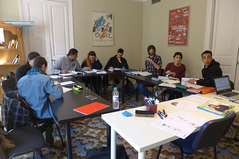Nuestros cursos de alemán en nuestra academia en Barcelona