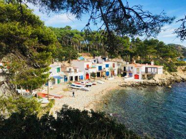 Ein kleiner Abschnitt bei Begur an der Costa Brava
