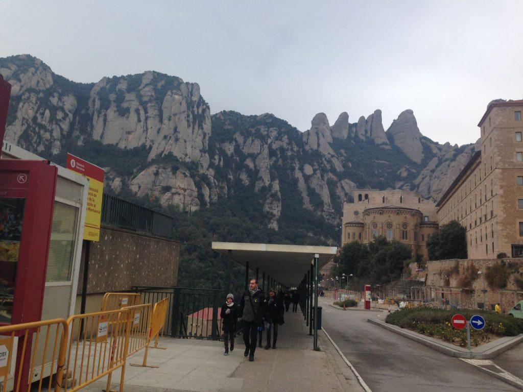 Ausflug mit meinem Tandem nach Montserrat