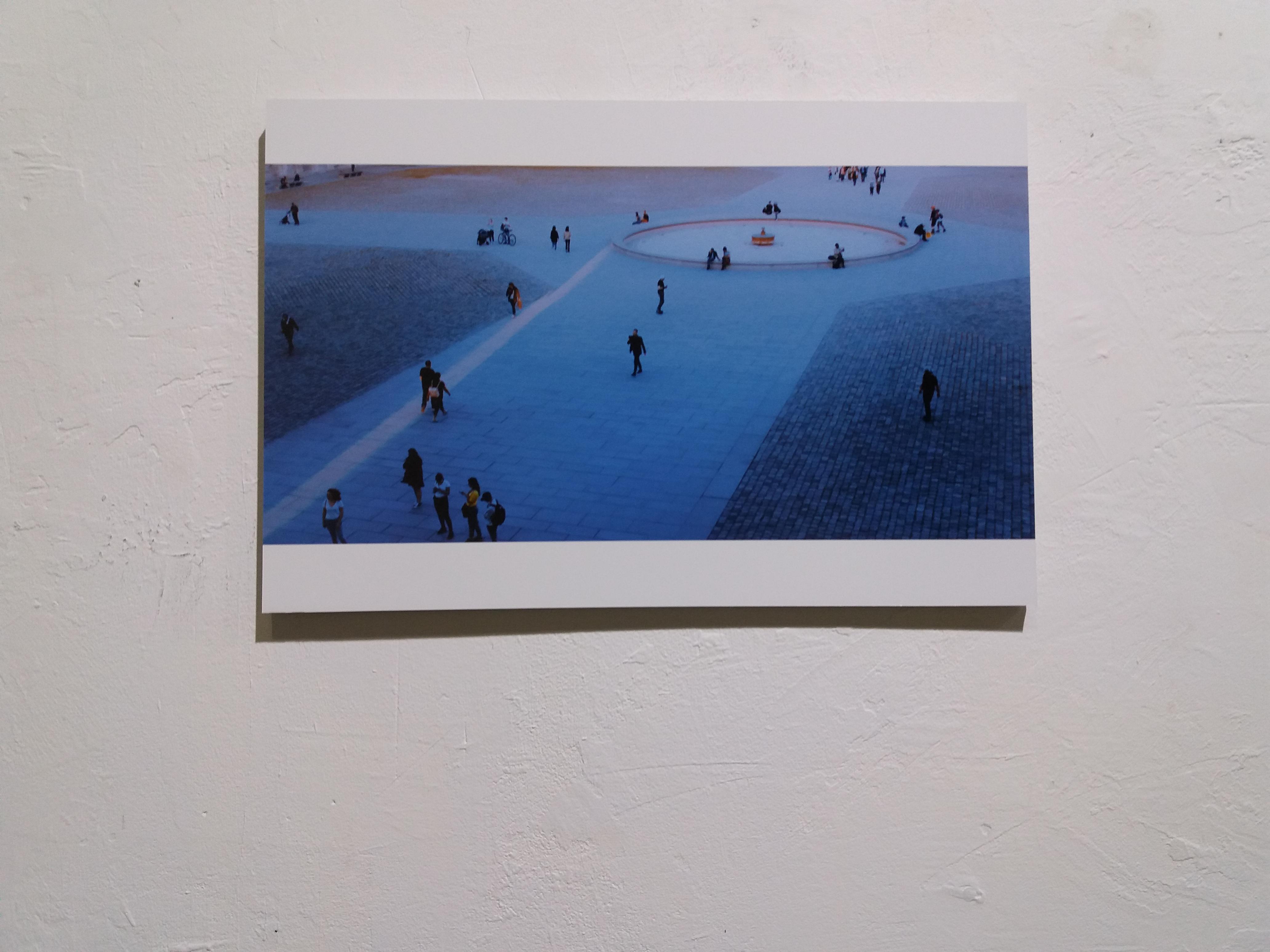Fotoausstellung als Kunst in Barcelona